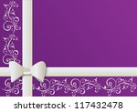 background for gift card or... | Shutterstock . vector #117432478