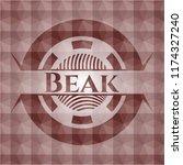 beak red seamless geometric...   Shutterstock .eps vector #1174327240