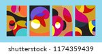 vector abstract colorful...   Shutterstock .eps vector #1174359439