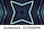 abstract kaleidescopic club...   Shutterstock . vector #1174360996