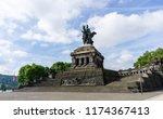 equestrian statue kaiser... | Shutterstock . vector #1174367413