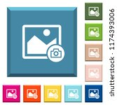grab image white icons on edged ... | Shutterstock .eps vector #1174393006