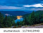 mummelsee at night  black... | Shutterstock . vector #1174413940