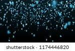 digital background. information ... | Shutterstock . vector #1174446820
