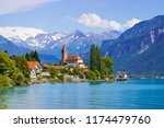 Panoramic View To The Brienz...
