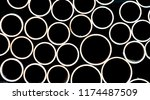 copper pipes background   Shutterstock . vector #1174487509