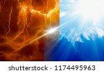 religious background   heaven...   Shutterstock . vector #1174495963