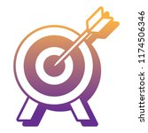 target icon image | Shutterstock .eps vector #1174506346