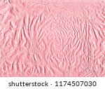shiny pink gold wrapping paper... | Shutterstock . vector #1174507030