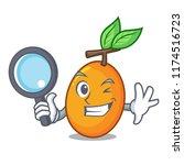 detective fresh juicy yellow... | Shutterstock .eps vector #1174516723