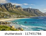 the beautiful city of cape town ... | Shutterstock . vector #117451786