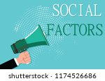 conceptual hand writing showing ...   Shutterstock . vector #1174526686