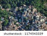 rocinha favela in rio   Shutterstock . vector #1174543339