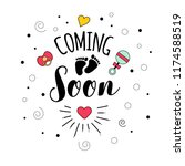 coming soon. mother mama...   Shutterstock . vector #1174588519