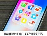 sankt petersburg  russia ... | Shutterstock . vector #1174599490
