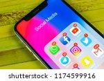 sankt petersburg  russia ... | Shutterstock . vector #1174599916