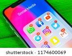 sankt petersburg  russia ... | Shutterstock . vector #1174600069