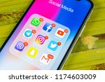sankt petersburg  russia ... | Shutterstock . vector #1174603009