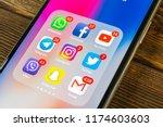 sankt petersburg  russia ... | Shutterstock . vector #1174603603