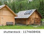 Wooden Alpine Cabin With Solar...