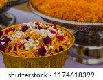 thai flower  for sacrifice... | Shutterstock . vector #1174618399