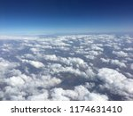 a high altitude photo of the... | Shutterstock . vector #1174631410