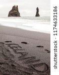 the two famous rock pillars in... | Shutterstock . vector #1174633186