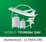 world tourism day tourism day... | Shutterstock .eps vector #1174651780