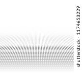 abstract gray halftone pattern. ... | Shutterstock . vector #1174653229