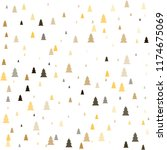 christmas trees seamless... | Shutterstock .eps vector #1174675069