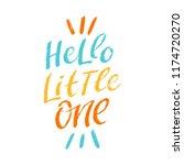 hand drawn lettering phrase... | Shutterstock .eps vector #1174720270