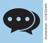 chat icon  dialog icon ...