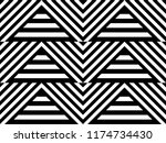 seamless pattern with striped... | Shutterstock .eps vector #1174734430