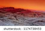 The Nevada Desert At Valley Of...
