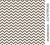 chevron seamless pattern  ... | Shutterstock .eps vector #1174759150