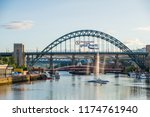 newcastle  england   july 29 ... | Shutterstock . vector #1174761940