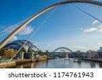 newcastle  england   july 29 ... | Shutterstock . vector #1174761943