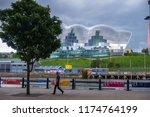 newcastle  england   july 28 ... | Shutterstock . vector #1174764199