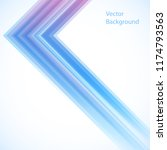vector abstract background from ... | Shutterstock .eps vector #1174793563