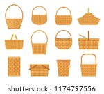 Collection Of Empty Baskets ...