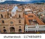cuenca  ecuador   october 21 ... | Shutterstock . vector #1174856893