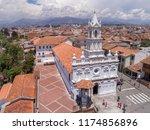 cuenca  ecuador   november 3 ... | Shutterstock . vector #1174856896
