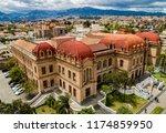 cuenca  ecuador   october 20 ... | Shutterstock . vector #1174859950