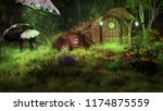 Night Scene With Fairytale...
