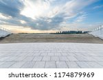 panoramic skyline and modern... | Shutterstock . vector #1174879969