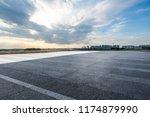 panoramic skyline and modern...   Shutterstock . vector #1174879990