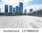 panoramic skyline and modern... | Shutterstock . vector #1174880023