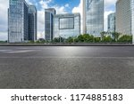 panoramic skyline and modern... | Shutterstock . vector #1174885183