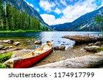 coquihalla summit  british... | Shutterstock . vector #1174917799