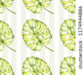 watercolor seamless pattern.... | Shutterstock . vector #1174944886
